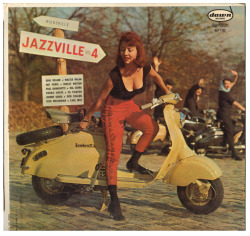 "Gene Roland/Hal Serra Trio ""Jazzville Vol.4"" LP - Dawn Records, US (1958)."
