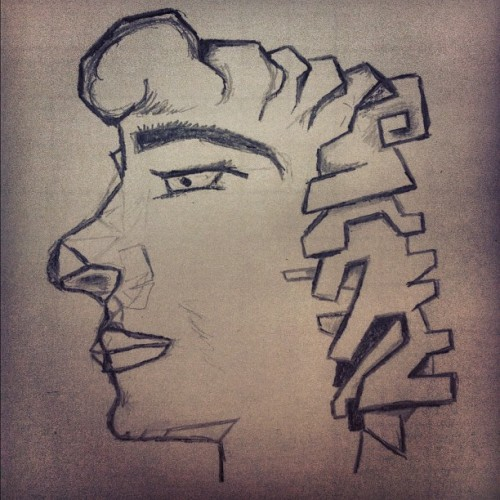 #Man #Draw #Pencil #Doodle #Rsm #sha5amee6  (Taken with Instagram)