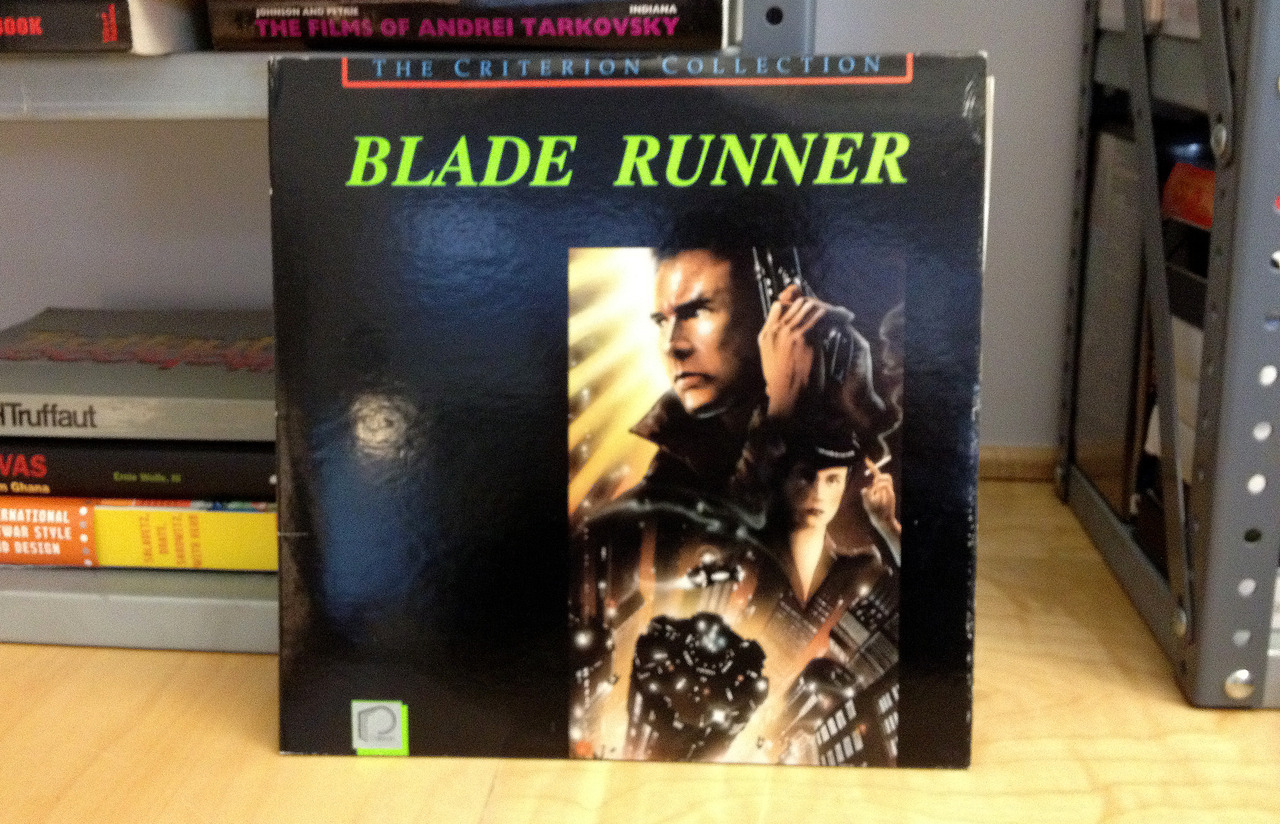 In 1987, the Criterion Collection released BLADE RUNNER on laserdisc.