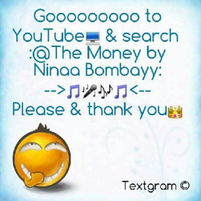 #YouTube #NinaaBombayy #NewMusic #FOS #love #life #PartyMusic #money  (Taken with Instagram)