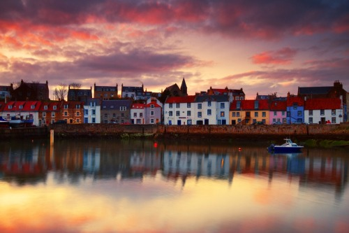 Harbour Reflections by Simon Cameron