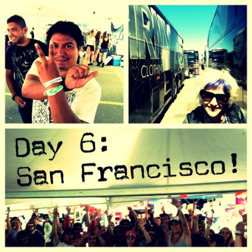Buzznet Exclusive: Young London's Warped Tour 2012 Photo Diary: Day 6