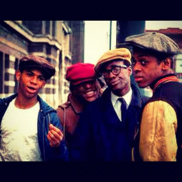 "1975. Northern #Chicago. ""COOLEY HIGH""#vintage #1970s #soul #blackstarpower (Taken with Instagram)"