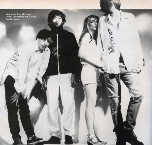 Sonic Youth, Q Magazine, 1992.