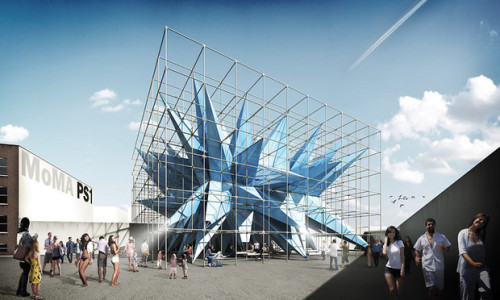 Rendering of HWKN's Wendy, 2012. Image courtesy of HWKN.