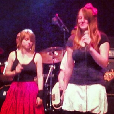 hopeloveandsecurity:  Performing with aT seven and Nadia Visser! (Taken with Instagram)