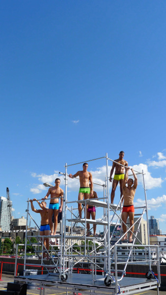 Blue skies. Bold color. NYC Pride, June 2012