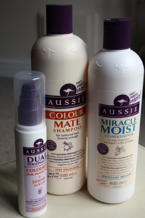 .My New Hair Regime | Aussie Miracles Review. Since having my hair Ombré'd at the weekend i decided to shake up my hair care regime as it was getting a bit dull! I've used Aussie Miracle products before and thought they were great so i took advantage of Boots' three for two offer at the moment and got myself a new set. I've used them all since i brought them and they make a fantastic team! The ends of my hair are looking better than they ever did, even before the Ombré and it smells gorgeous. Both the shampoo and the conditioner lather up really nicely and wash out well too, i found i didn't need to use much even with my super long hair so these giant bottle are going to last me ages. I keep getting a sniff of my hair whenever it moves and the conditioner smells like bubblegum - delicious! The shine serum is a lifesaver too if i've left my hair to air dry and it's looking a little lifeless the next day. Just running a tiny amount through from the middle to the tips gives a lovely subtle shine without making your hair look greasy.  I think i paid around £6 a bottle for these and then with the three for two offer i got my shine serum free - great stuff, especially for 500ml and 400ml bottles! (Don't forget your Boots points too!) Have you tried any Aussie Miracles haircare? xax