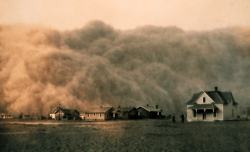 Dust Storm - Texas. 1935. George E Marsh