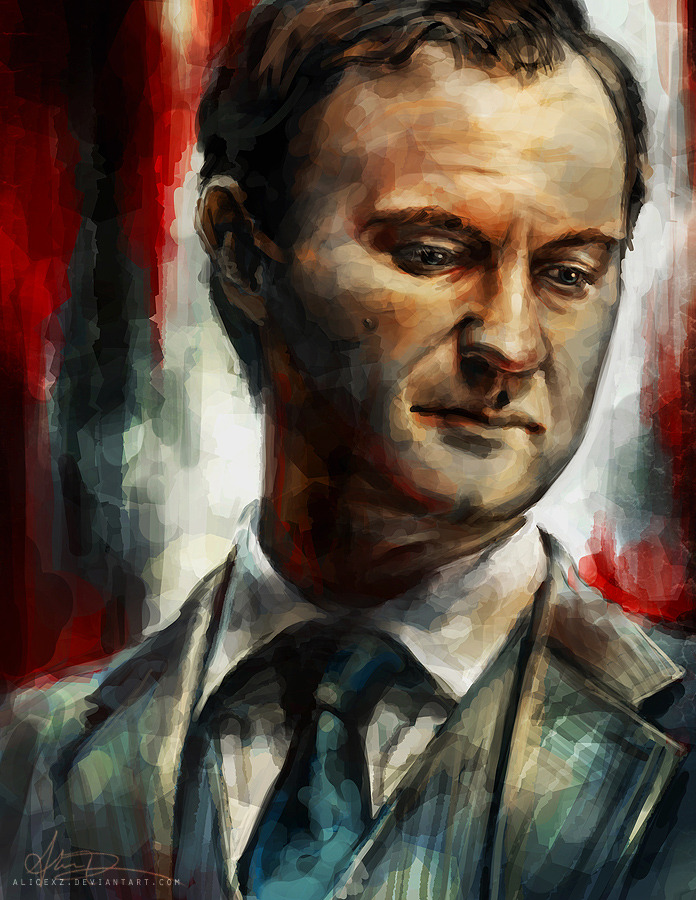 alicexz:  My complete set of Sherlock portraits! Prints are available at my Society6 (which incidentally has free international shipping until July 29th!) I'll also be doing a Limited Edition fine art print set of the entire series in my personal shop - contact me if you'd like to pre-order it.