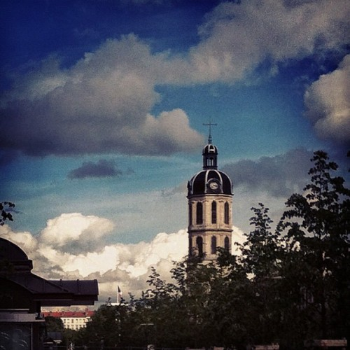 Le clocher de la Charité - Place Antoine Poncet Lyon  (Taken with Instagram)