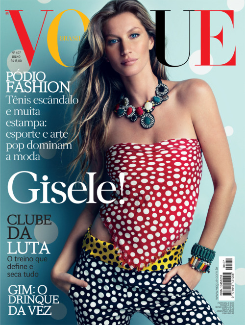 Vogue Brasil July 2012 by Patrick Demarchelier