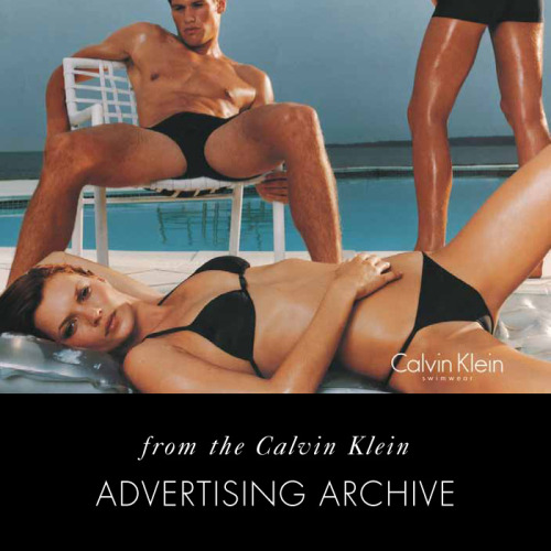 Calvin Klein Swimwear, 1998, From the Calvin Klein Historical Advertising Archive, Kate Moss; Photo © Steven Meisel