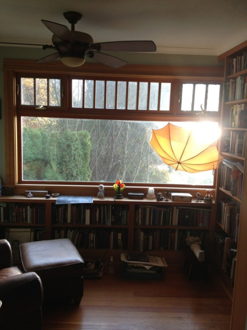 maudelynn:  My library / reading room in our Seattle house