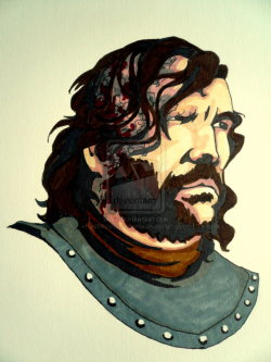 fearbreeze:  The Hound by ~lilMissRenaissance