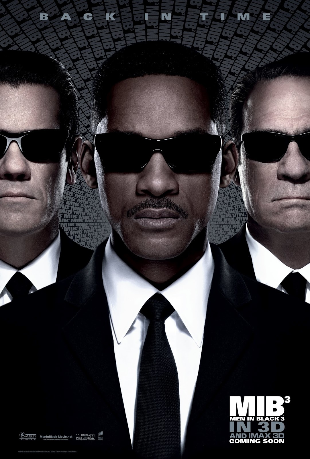 Movies I've Seen in 2012 131.  Men in Black 3 (2012) Starring:  Will Smith, Josh Brolin, Tommy Lee Jones Director:  Barry Sonnenfeld Rating:  ★★★★/5