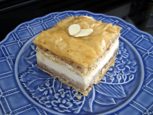 Baklava Ice Cream Sandwich