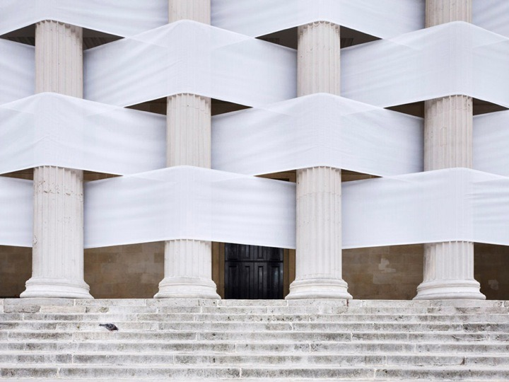 thedaily-hodgepodge:  Woven Portico. UCL London