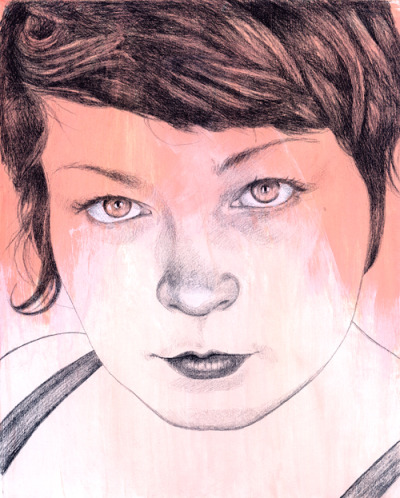 drawingadrawing:  June 26, 2012 | Day 21 of 365 Shannon www.Michael-Shapcott.com
