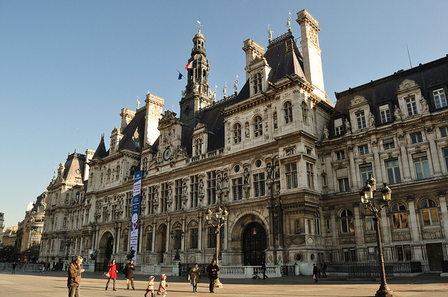 | ♕ |  L'Hôtel de Ville - Paris City Hall  | by © Laura Gilchrist