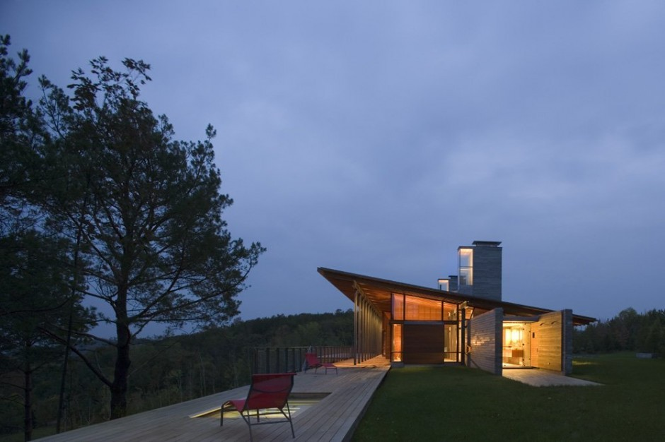 architecturedesigns:  Ridge House by Bohlin Cywinski Jackson