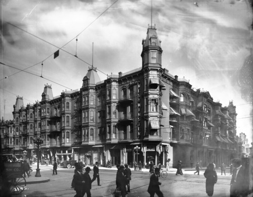 The Westminster Hotel, 4th and Main, 1900.