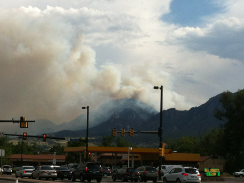 Flagstaff fire is now 200-300 acres.