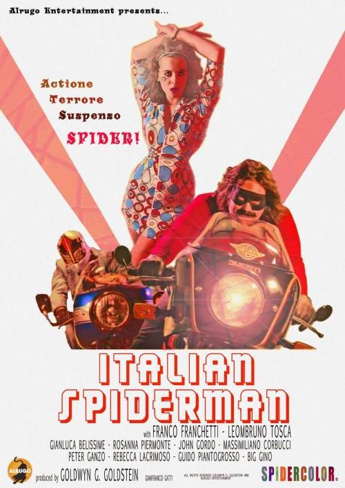 Italian Spiderman poster
