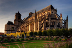 Bourges Cathedral, Cher, France
