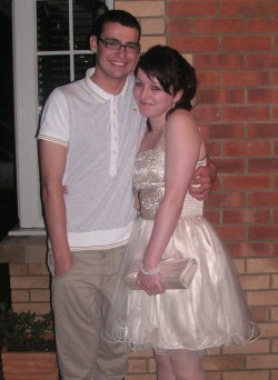 puffpuffthemagicdragon:  Just after prom!oooo, that smile of his, aw! <3