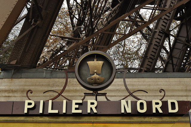 | ♕ |  PILIER NORD - Tour Eiffel, Paris  | by © Laura Gilchrist