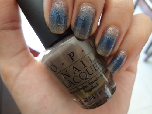 stephanieanguyen:  Dirty Royal Ombre OPI's You Don't Know Jacques (Suede), You Don't Know Jacques, Dating A Royal, Tickle My France-y