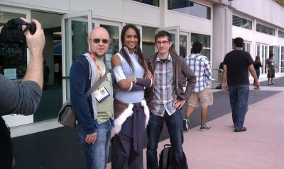 Mike, Bryan, and….Korra