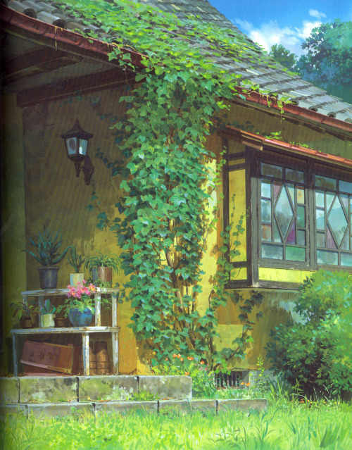 aweyeahartbooks:  From The Art of The Borrower Arrietty