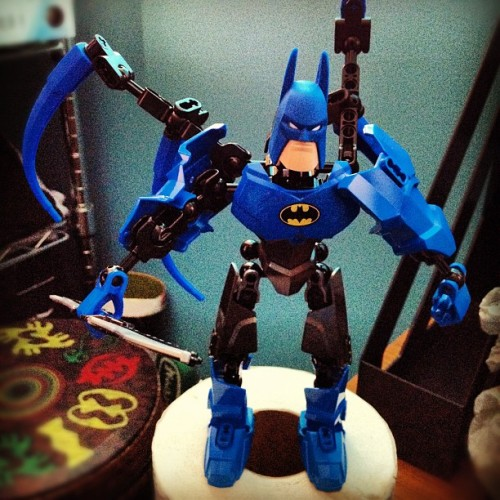 #Lego #Batman #toys -my inner childhood revived! (Taken with Instagram)