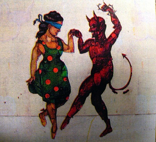 A dance with the devil might last you forever.