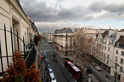 View from Paris Hotel balcony by Mr. Physics on Flickr.