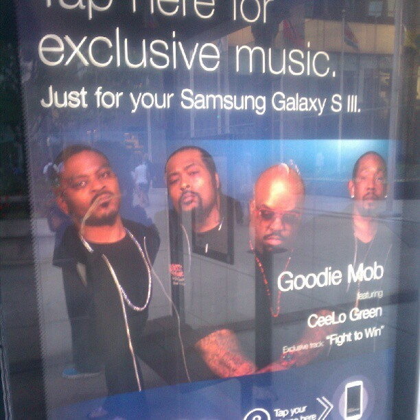 """Goodie Mob FEATURING Cee-Lo Green."" Sigh. (Taken with Instagram)"