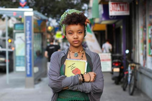 "humansofnewyork:  ‎""I want to change the world, but I don't know how.""""Do you mind if I give you a piece of advice?""""Sure.""""Read books by people you disagree with."""