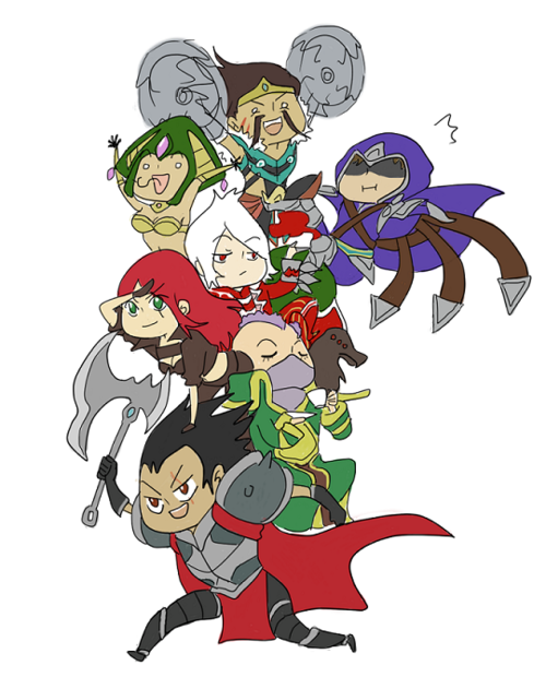 League of Derpgends (via http://elohell.net)