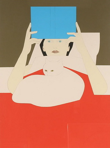 Woman Reading, Will Barnet.