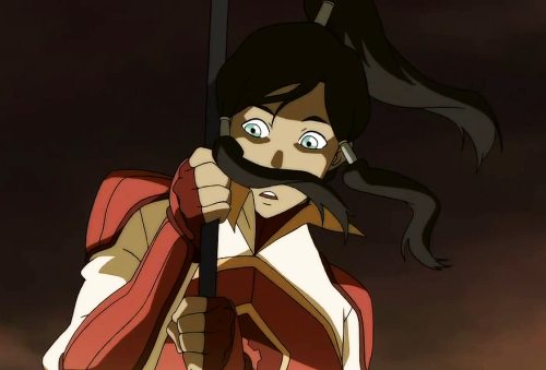 saekimchi:  korravangelist:  nice mustache korra wats it made of  YOUR MOM'S CHEST HAIR
