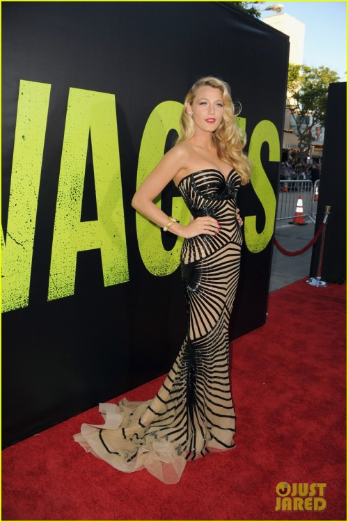 Blake Lively @ Savages Premiere