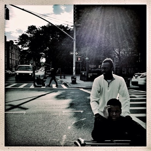 Clinton Hill, Brooklyn | June 25, 2012 #Photojournalism #photography #documentary #hipstamatic #iphoneonly #iphonegraphy #streetphotography #brooklyn #nyc #injured #raysoflight (Taken with Instagram)