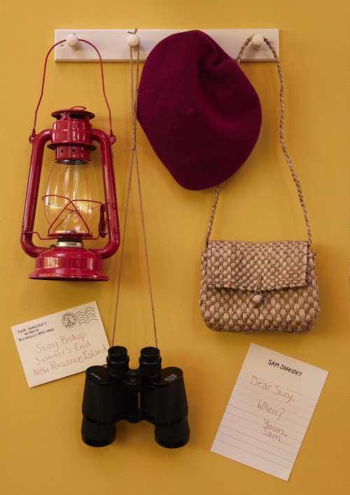 jessicachastain:  Suzy Bishop's essentials from Moonrise Kingdom