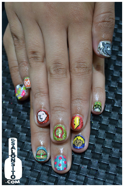 elsalonsito:  Doug birthday nails!