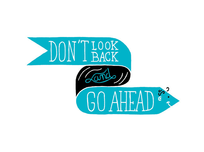 aquaticwonder:  Don't Look Back