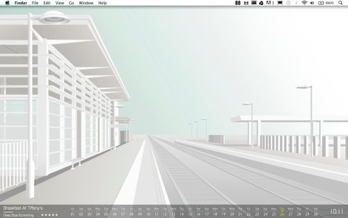 """I like to keep my desktop very clean and uncluttered, similar to the websites I design. It reminds me that function is far more important than style, but that I should always try to combine the two."" Daniel Turnbull, Web Designer, London, UKhttp://www.dt-webdesign.co.uk"