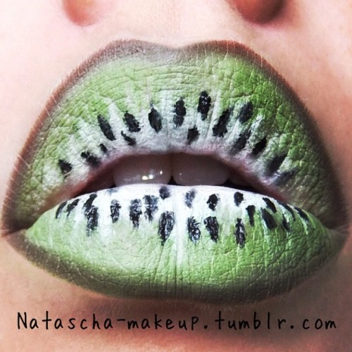 Kiwi lips by me (Taken with Instagram)