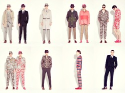 Marc Jacobs Men's RTW Spring/Summer 2013 | Cole Mohr & Lyle Lodwick